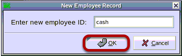 New Employee Record