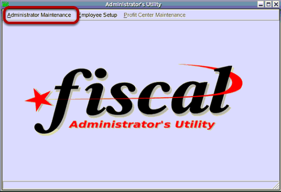 Administrator Utility