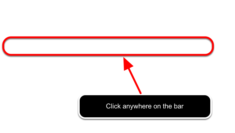 To make changes to a category, click on the category name or anywhere on the same bar. For example: