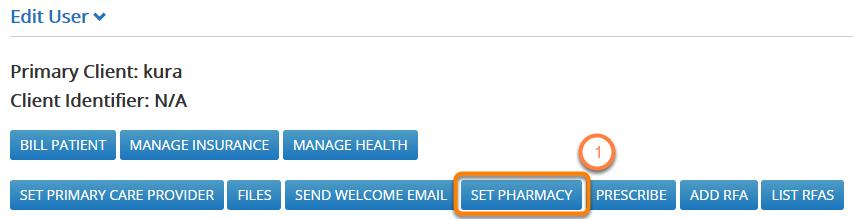 Set Patients' Pharmacy