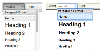 Steps to add Headings