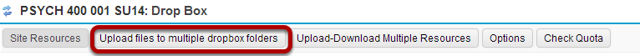 Select Upload files to multiple dropbox folders.