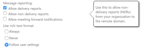 Additional configuration for Office365