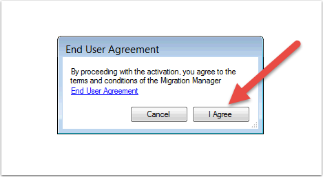 Review and Accept the End User Agreement