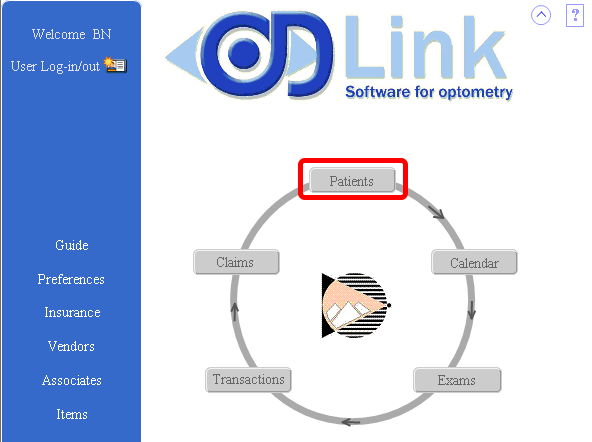 OD Link Home Page