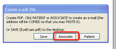 If you save/send, choose who you want to  email it to, or save it