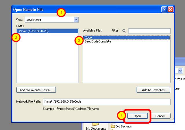 Open Remote File