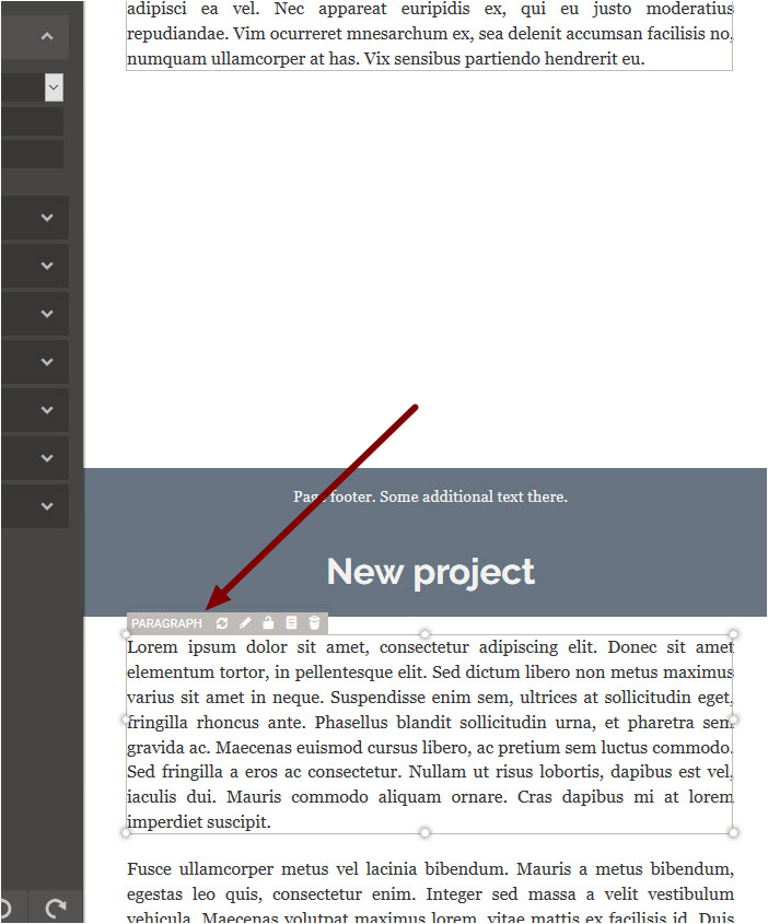 2. Moving Content into the White Space