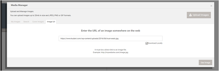 3. Adding the Image URL