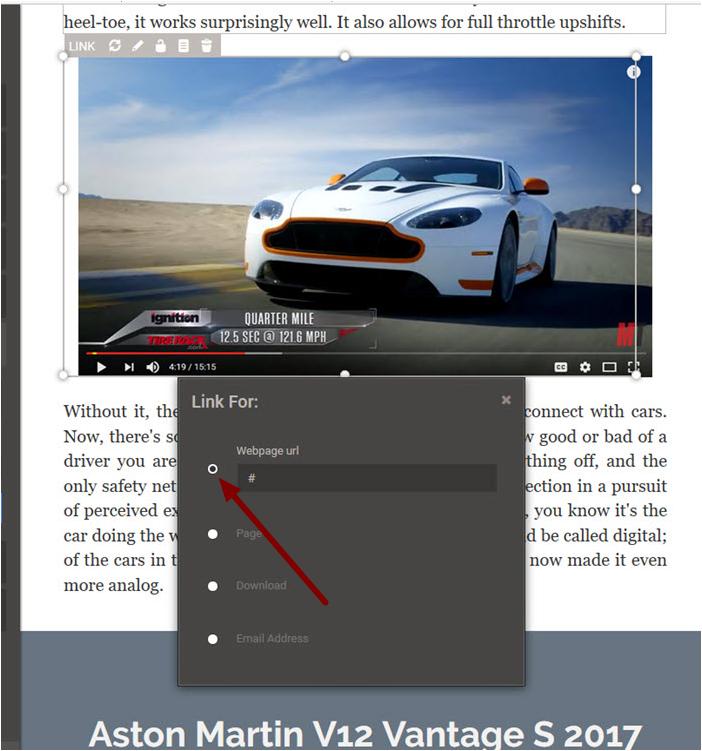5. Adding the Video URL