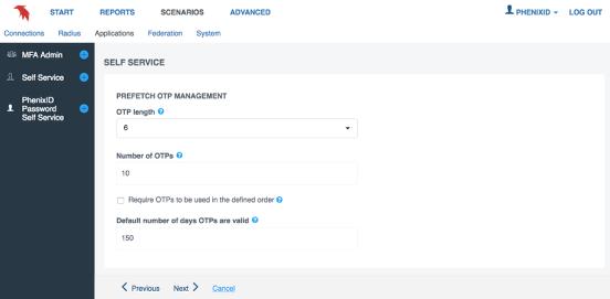 Prefetch OTP feature