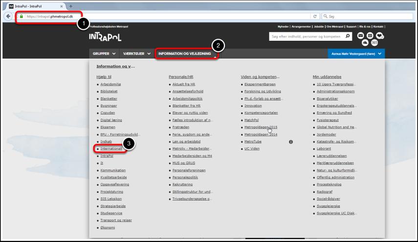 Find MoveOn på Intrapol: