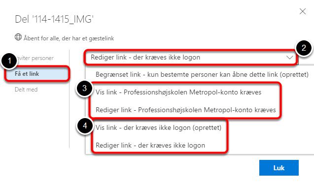 Da mailfunktionen her kun kan sende ud til specifikke personer, kan det nogen gange være nødvendigt at anvende Outlook i stedet for: