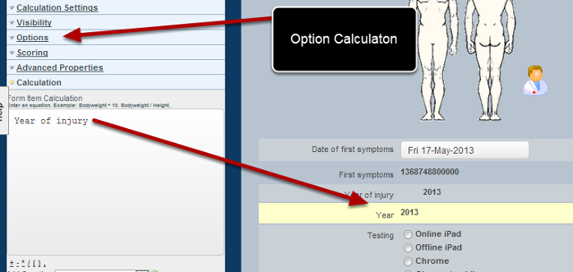 "Add in an ""Option Calculation"" field and paste in the options below"