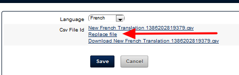 Click on Replace File