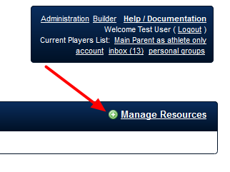 N.B. Users can still Manage Resources from either layout