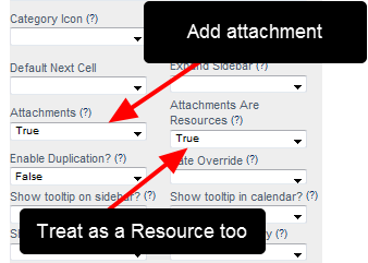 Now, on an Event Form by Event Form basis Attachments can be enabled, and you can also set these Attachments to be treated as <strong>Resources</strong>