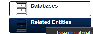 On the Builder Site a new Module called Related Entities is available
