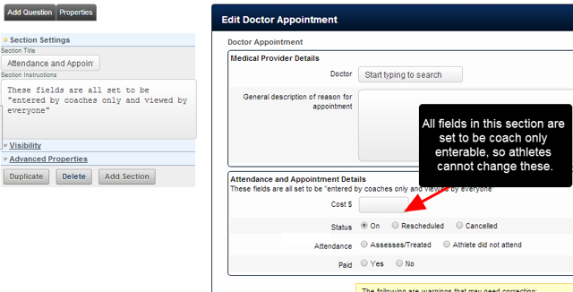 Add in the appropriate fields into the Event Form, and make sure you set up the read/write access to these as required