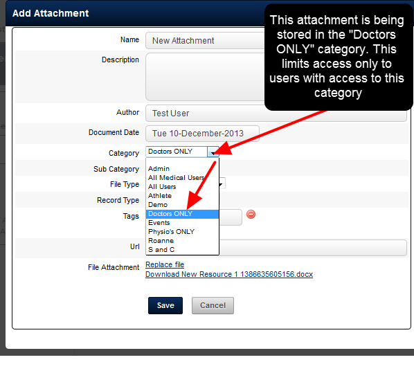 However, if an Attachment-Resource is uploaded by a user into a Category that is only accessible to a couple of user, no other users will be able to access that Attachment-Resource