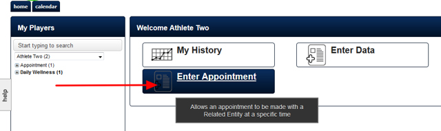 "You will have been set up with access to the ""Book Appointments"" Module. This will appear on your Home Page"