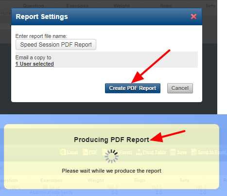 The report will run as expected and will be sent to this user.