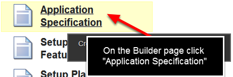 """To generate a complete list of any fields that you have set as """"Critical Info"""" you can do this from the Application Specification Module"""