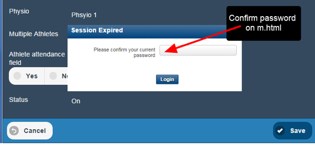The expiry timeout is supported on Mobile (m.html), but not on iOS.