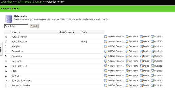 If you need to build/create a database, so to the Database Module on the Builder and create one (see the section on the Database Module to see more information)