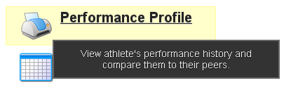 The Performance Explanations are also designed to give feedback in the Performance Profile Reports on the Application. You can run a Performance Profile Report for a form with a performance explanation and the explanation will appear in the pdf report.