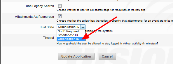 3. Organisational ID allows the organisation to manually assign a unique ID code to each user