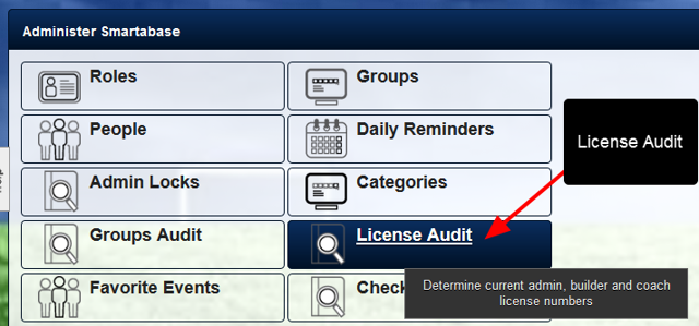 The ID is also included in the License Audit Module export