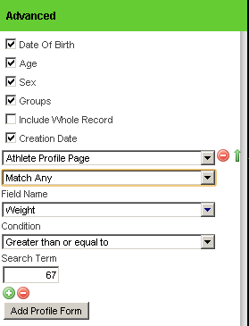 To filter the report based on a profile field, you just add in a filter and click Run Report again