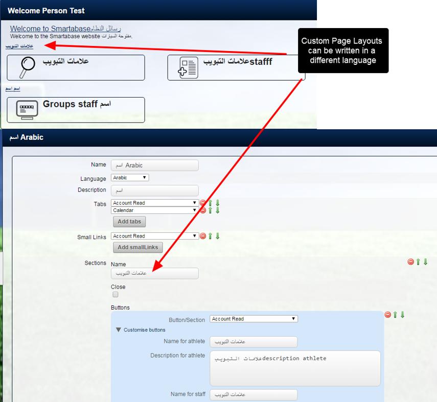 Custom Page Layouts