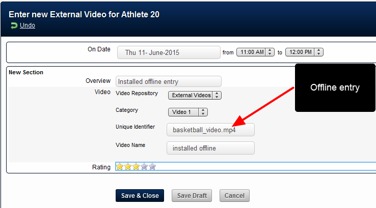 The video can be entered online and offline on the installed version, and viewed when online.