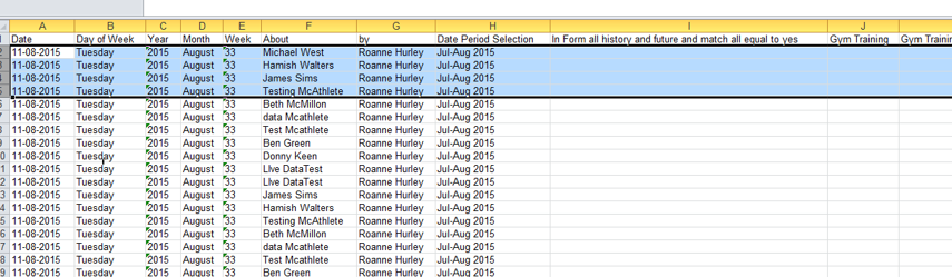 Excel Reports: when default show in tables = False, the In Form report data is not sent to the report, which significantly reduces load on the server