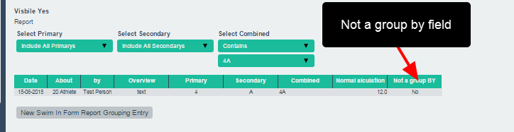 "Note that ONLY fields not set as ""Group By"" will appear as a filter. If it is not set up as a Group By then the field will just appear as part of the table"