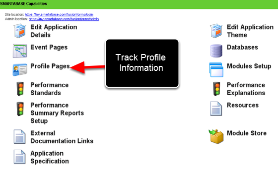 Profile Pages-for Profile Information