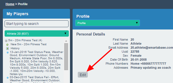 Currently users with the Edit Profile Account details system permission can edit nearly all any of the account fields for an athlete via the Profile pages