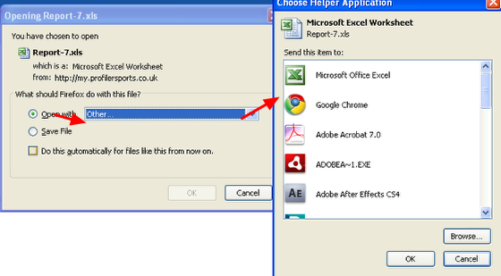 Users can also choose different software to open the file