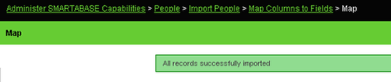 Import Success