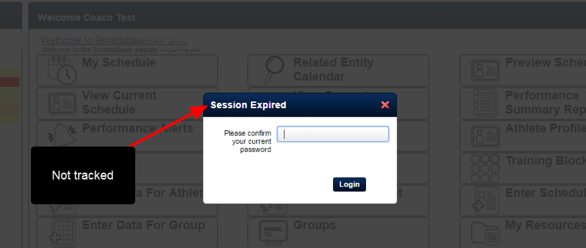 The Most Recent Login will ONLY display the last login date. N.B., if a users stays logged in and re-enters in their password after the session is expired this is NOT tracked as a login.