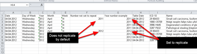 Does one of your numeric fields need to replicate in an Excel Pivot Table? To set up a numeric field so that it is replicated in the Excel Reports see the steps below.