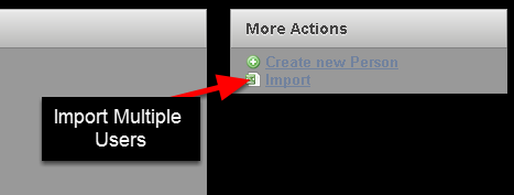 You can import multiple new users onto the system at once. These users can be imported in and you can even import them into a Role and a Group. You need to know three key pieces of information to import users correctly.