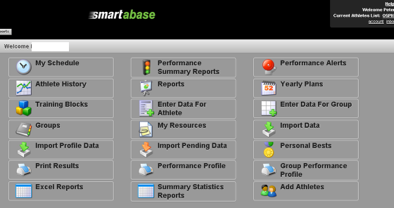 A Section is used to display the main Modules on the Home Page site. The default Home Page shows one section with all of the Modules that a User has access to. It also displays any Favourite Events and Front Page Reports that have been set up.