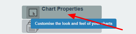 Go to Builder site and click on Chart Properties