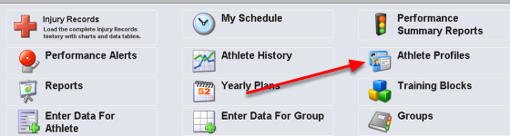 You can instantly generate a file of ALL Profile Data entered in the Profile Pages. If you are a coach or a staff member and you need a copy of this information you will need to ask you Site Builder.