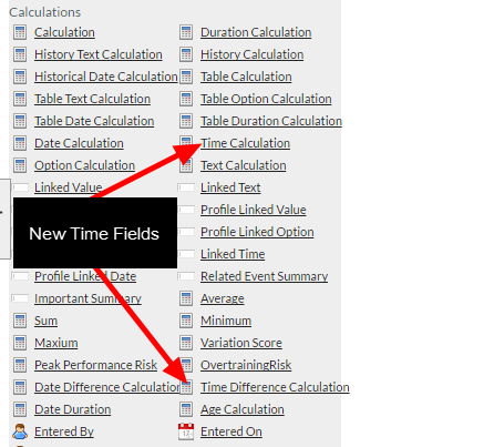 New Calculations: Time Calculation and Time Difference Calculation