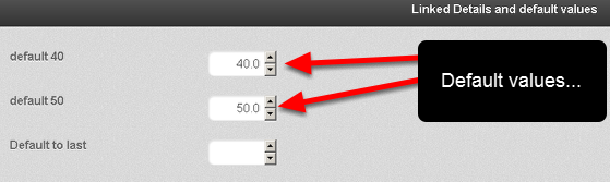 Default Values are now showing in Event Forms