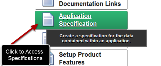 The Application Specification enables you to get a complete breakdown of all of the Profile Forms, Event Forms and Fields in your system